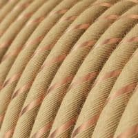 Jute with Copper 3 Core Electrical Cable
